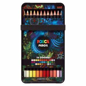 Posca Colouring Pencil Set Of 36
