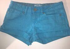 Aeropostale Girls 00 Turquoise Shorts (H16)