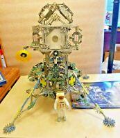 KNEX Apollo 15 Lunar Lander Pieces & Instruction Book 2000 Building Toy