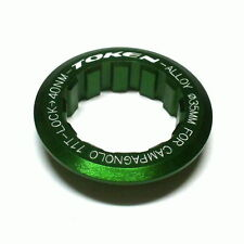 gobike88 TOKEN Lock Ring for Campagnolo Cassette, 11T, Green, 003