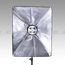 "New 4 bulb stocks with 20""x28""/50x70cm Folding Easy Softbox"