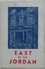 1966 Guidebook JORDAN Amman Petra Irbid Dead Sea Karak Zarqa Maps Eugene Hoade