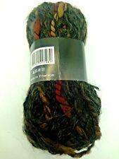10 pelotes  de laine fantaisie  couleur automne  / fabriqué en FRANCE