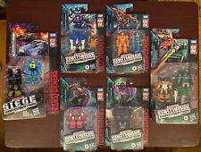 Transformers Siege / Earth Rise lot of 6 New