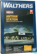 Walthers 933-3038 Amtrak(R) Station Kit HO Scale Train