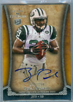 2011 Topps Five Star Bilal Powell On-Card Auto Rc Serial # to 199