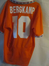 Holland Euro 1996 Bergkamp Home Football Shirt Size Large /34112