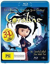Coraline (Blu-ray, 2009)