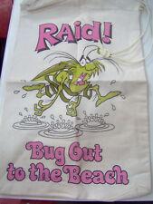 Raid Beach Bag 1979 Premium From SC Johnson Wax