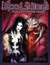 Art of Tom BAXA: Blood Rituals - Art Book, fantasy art,  mtg, WOW, D&D, dark art