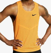Nike Aeroswift Men's Running Vest, Medium, AQ5247-845, Laser Orange, BNWT, RARE!