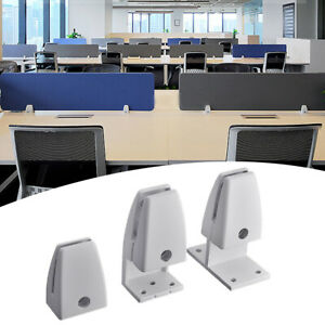 Aluminium Alloy Office Partition Bracket Screen Clamp Panel Clips Support