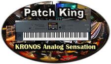 Korg Kronos Sound Library - V8 Analog Sensation New Sounds For The Kronos Al-1