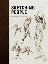 Sketching People : Life Drawing Basics - Jeff Mellem BRAND NEW