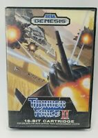 THUNDER FORCE II 2 - Sega Genesis - Game and Box Only - TESTED