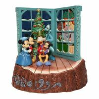Jim Shore Disney Traditions 2020 Mickey's Christmas Carol God Bless Us Everyone