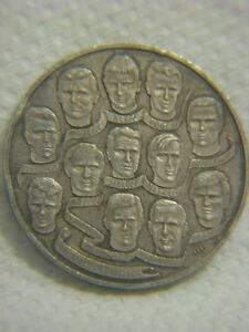 Borussia Mönchengladbach Football Sterling Silver Medal 1970/1971 Germany