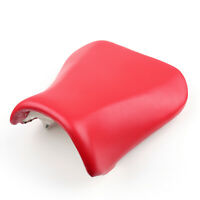 Front Rider Seat Leather Cover For Suzuki GSXR600/750 2004-2005 K4 Red T05