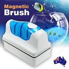 Magnetic Aquarium Glass Cleaner Fish Tank Aquatic Algae Cleaning Magnet Brush