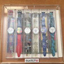 NOS NIB Original Swatch Watch Artist Collection LE 1995 1996 Kemp Corneille art