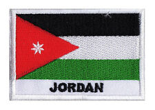 Badge Patch Patch Country Flag Jordan Jordan 70 X 45 MM Sew-On