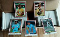 1981 Donruss Baseball Complete Set Tim Raines Rc Henderson 2nd Year NRMT-MT