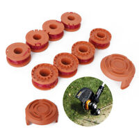 6/8/10/12 Pack For WORX WA0010 Replacement Spool Line Grass Trimmer Edger 10ft