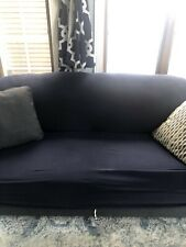 Seater Stretch Sofa Cover Elastic Slipcover Protector Black  US