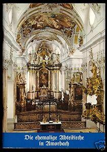 tour. Broschüre, Die ehemalige Abteikirche in Amorbach, 1979