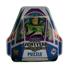 Toy Story Mystery Puzzle Buzz Lightyear Space Ranger Tin 48pc