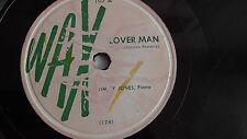 Jimmy Jones– 78rpm 10-inch single – Wax #107