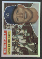 mickey mantle 1996 Topps REPRINT Refractor #135