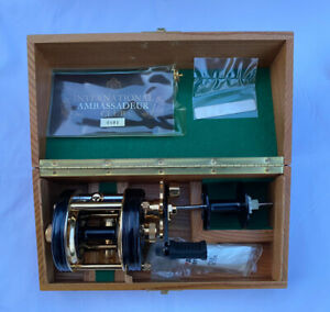 Limited Edition Boxed Abu Ambassadeur 5000 CDL Gold Plated Multiplier Reel