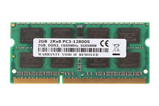 NEW 2GB PC3-12800S RAM Laptop SO-DIMM Memory DDR3 1600Mhz CL11 For Macbook iMac