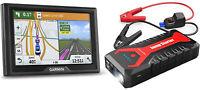 Garmin Drive 50LM GPS with Lifetime Maps & DBPower 2000A Car Jump Starter Bundle