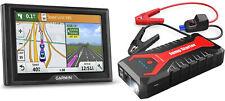 Garmin GPS con Mapas de vida Drive 50LM & dBpower 2000A Car Jump Starter Paquete