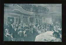 France PARIS Hotel Grande Bretagne Romano Rue Caumartin Advert c1920s? PPC