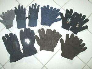 Konvolut (7 Paar) Fingerhandschuhe in versch. Größen ( 3 - 7 Jahre )