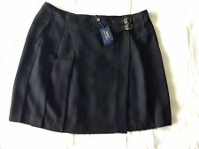 Polo Ralph Lauren Mini Sport Casual Skirt Black Size 14 NEW RRP 280