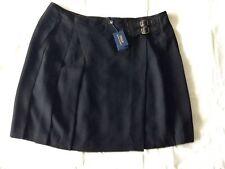 Polo Ralph Lauren Skirt Black Size 14 NEW RRP 280