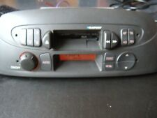 Fiat Punto Low Car Radio Cassette Stereo With Code / Faulty Cassette