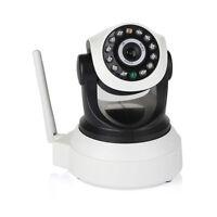 360° Wireless 720P HD Pan Tilt IP Camera Night Vision WIFI Panoramic Webcam NEW