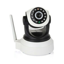Wireless Pan Tilt HD 720-P Security Network IPCamera Night Vision WIFI IR Webcam