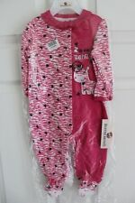 Buster Brown Infant Z IS for Zebra Applique Footie Hearts Outfit 6-9 Months NWT