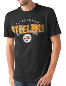 "Pittsburgh Steelers NFL G-III ""Playoff"" Men's Dual Blend S/S T-shirt - Black"