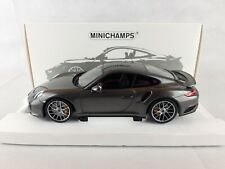 Porsche 911 (991.2) Turbo S • 2016 • NEU • Minichamps 110067121 • 1:18