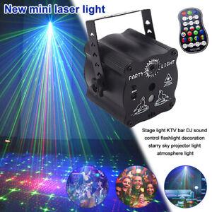 RGB LED Disco Laser Projector Light Stage Light DJ Bar KTV Home Party Xmas Lamp