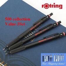 [Value 3set] rOtring 500 0.35, 0.5, 0.7mm Mechanical Pencil Set [NEW] Ship Free