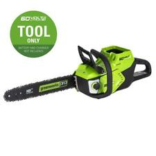 Electric Chainsaw Lithium Ion 16-in Cordless 60-Volt Max Outdoor Equipment Home