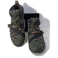 "Nike Zoom Lebron Soldier 9 ""Camo"" Sneaker Shoes Men's Size 11"